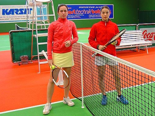Maria Čiripová a Michaela Kucharová