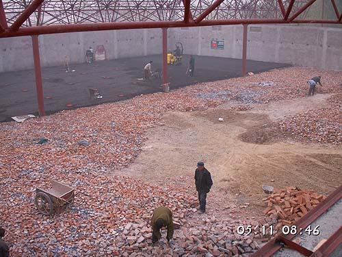 Česká antuka v Číně