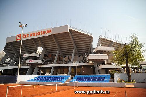 Centrální tenisový dvorec