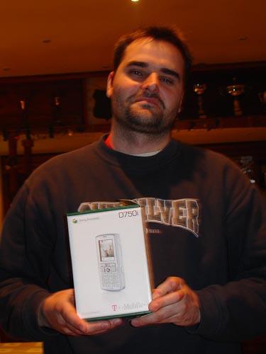 """Uživatel """"lubos"""" - 6. místo prosinec 2006"""