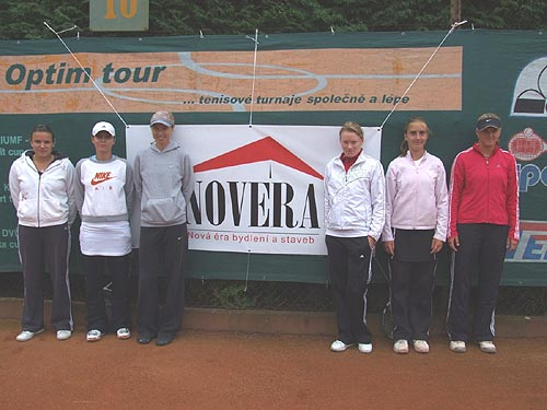 Účastnice MASTERS Optim Tour 2008