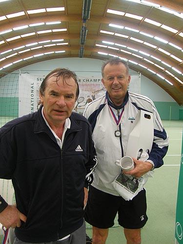 Vladimír Lacina a Alexander Černoch