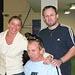 Zástupkyně ITF s Martinem Legnerem v Průhonicích 2006