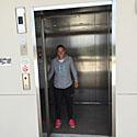 Výtah na tribunu