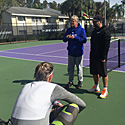 Pat Harrison - šéftrenér IMG Academy Tennis