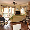 Villa pro 6 osob - obývací pokoj