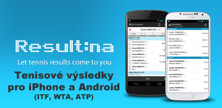 ITF, WTA, ATP results for iPhone & Android
