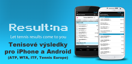 Tennis Europe, ITF, WTA, ATP results for iPhone & Android