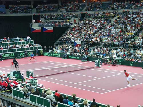 Davis Cup: ČR - Švýcarsko