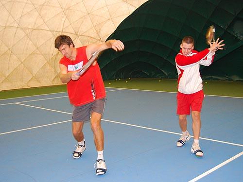 Balancestep - Foto: Mgr Zuzana Šafářová, Tenis Arena